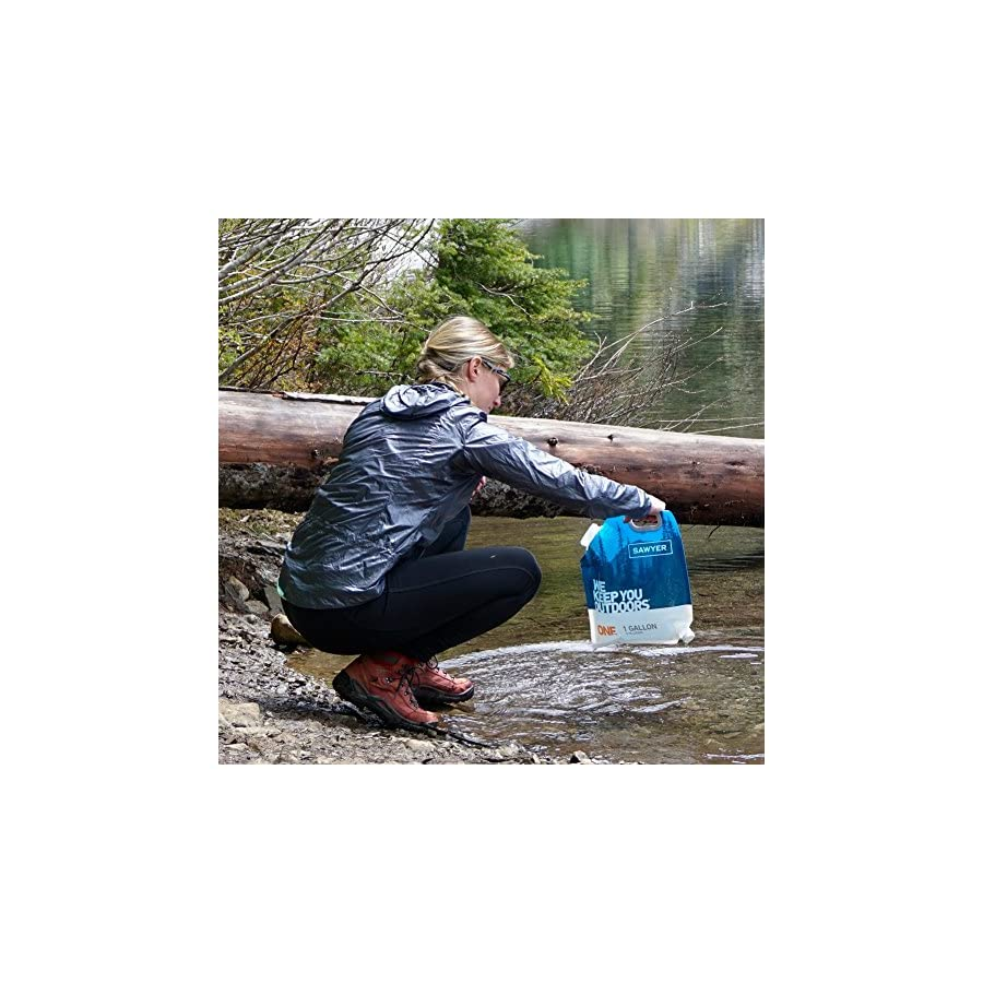Sawyer Products SP160 One Gallon Gravity Water Filtration System with Dual Threaded Mini Filter