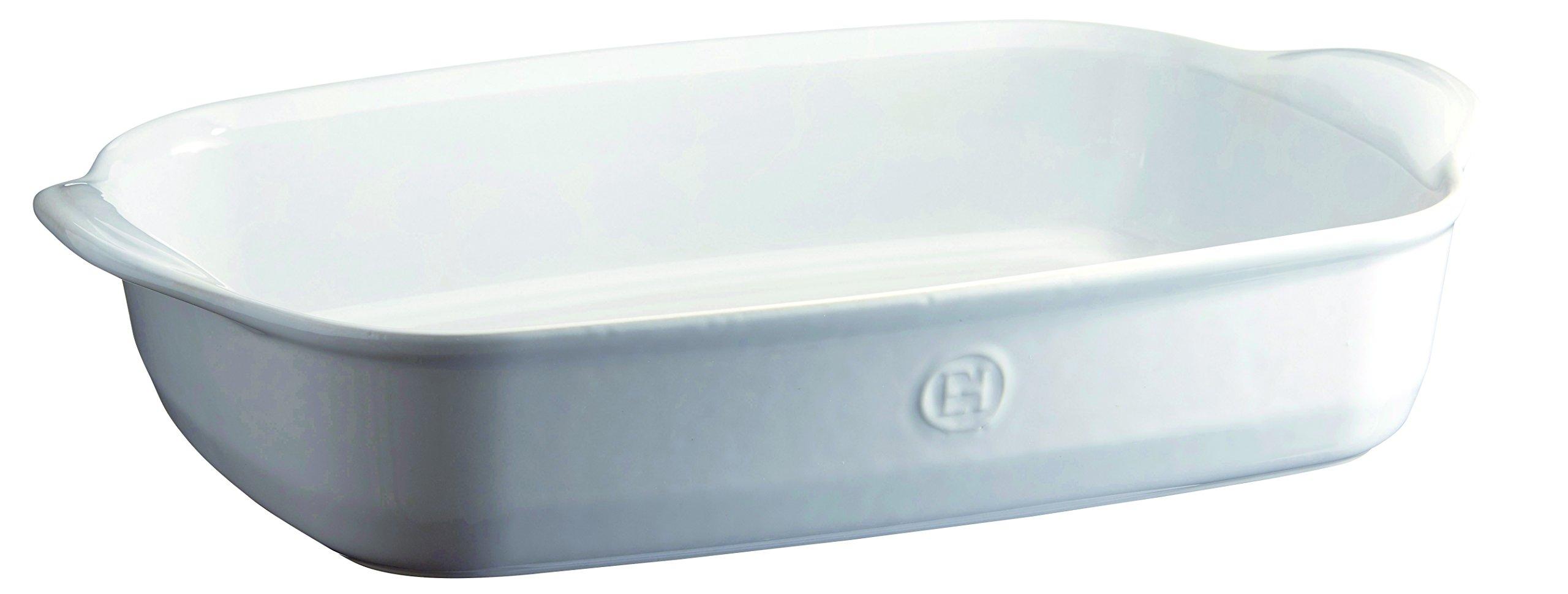 Emile Henry 119654 France Ovenware Ultime Rectangular Baking Dish, 16.5 x 10.6, Flouro
