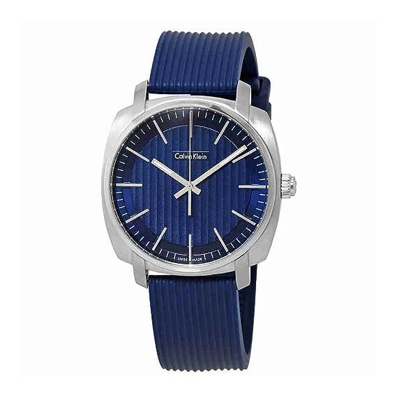 Calvin Klein Highline - azul cuarzo analógico hombre reloj K5 M311ZN: Amazon.es: Relojes