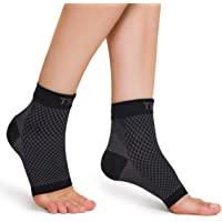 TSLA Unisex 1 Pairs Plantar Fasciitis Socks with Arch Support for Men & Women, Ankle Compression Socks for Foot and Heel…