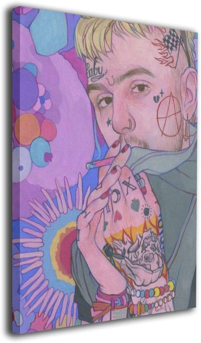 "Lil Peep poster wall art home decor photo print 24/"" x 24/"""