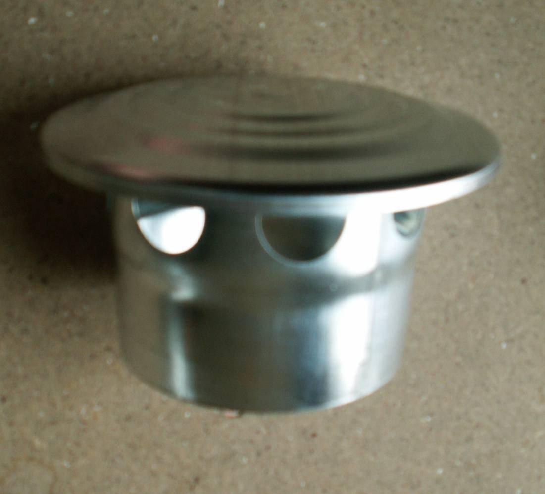 87 und 100 Dunsthaube Titanzink in den Gr/ö/ßen NW 76 80 D