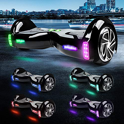 """61m%2B4dVyRQL - TOMOLOO Hoverboard with App and LED Lights Two-wheel Bluetooth Self Balancing Scooter with UL2272 Certified, 6.5"""" Wheel Electric Scooter for Kids and Adult"""