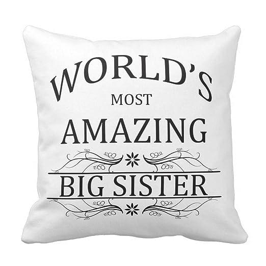 Zhark WorldS más increíble Big Sister Manta de Almohada ...