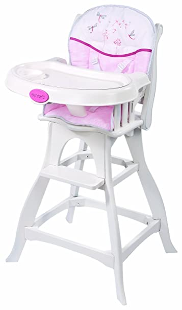 Amazing Carteru0027s Wish Collection Classic Comfort High Chair, Pink/White  (Discontinued By Manufacturer)