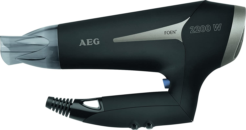 AEG HT 5684 Ion de secador de pelo 2200 vatios, Negro: AEG: Amazon.es: Salud y cuidado personal