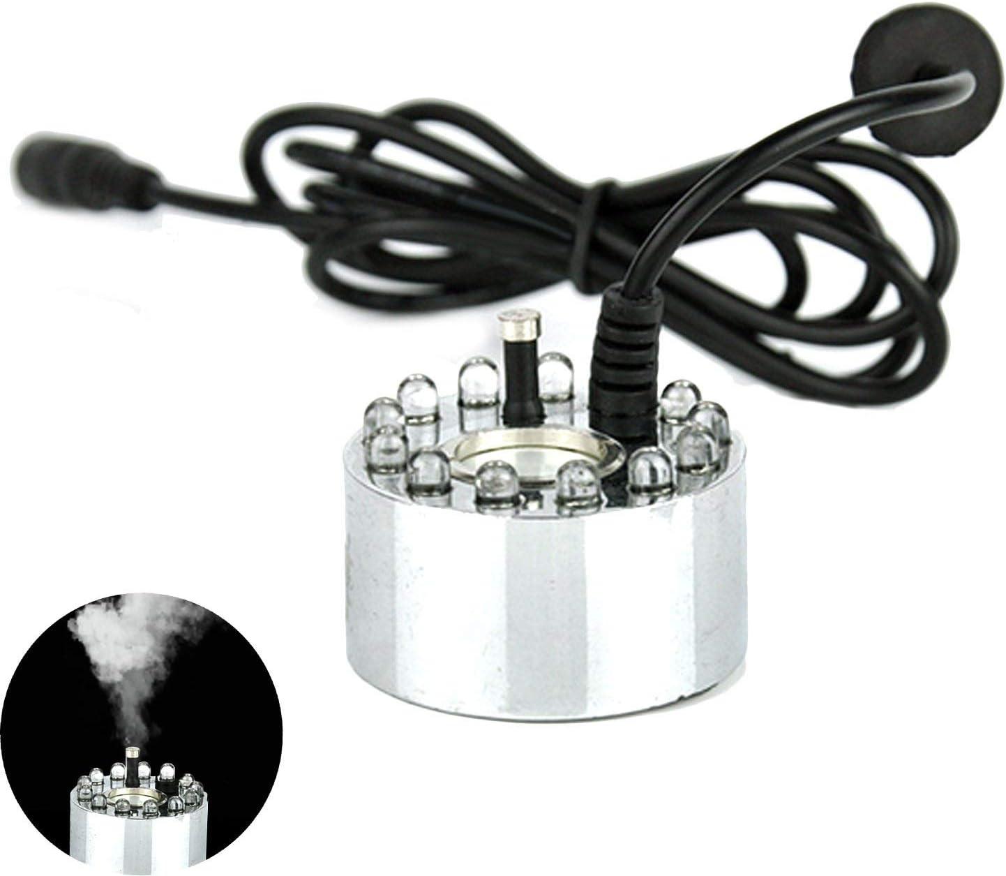 Humidificateur à ultrasons mist maker nébuliseur eau fontaine étang atomiseur IH