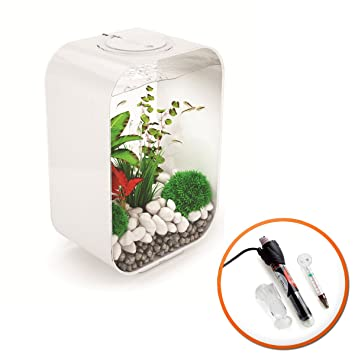 biOrb 45L vida blanco Tropical Acuario con luz LED inteligente y calefactor): Amazon.es: Productos para mascotas