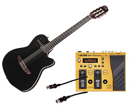 Godin guitarras ACS Slim nailon sintetizador access 2-voice estrecho Midi y pedal de efectos
