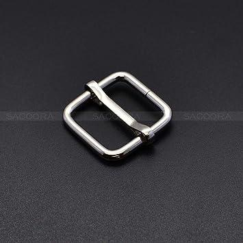 20pcs 3//4 Silver Metal Slides Tri-Glides Buckles Strap Webbing Slider Buckles