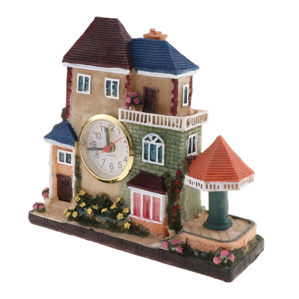 Reloj de Alarma de Villa Vintage Europeo Regalo para Cumpleaños ...