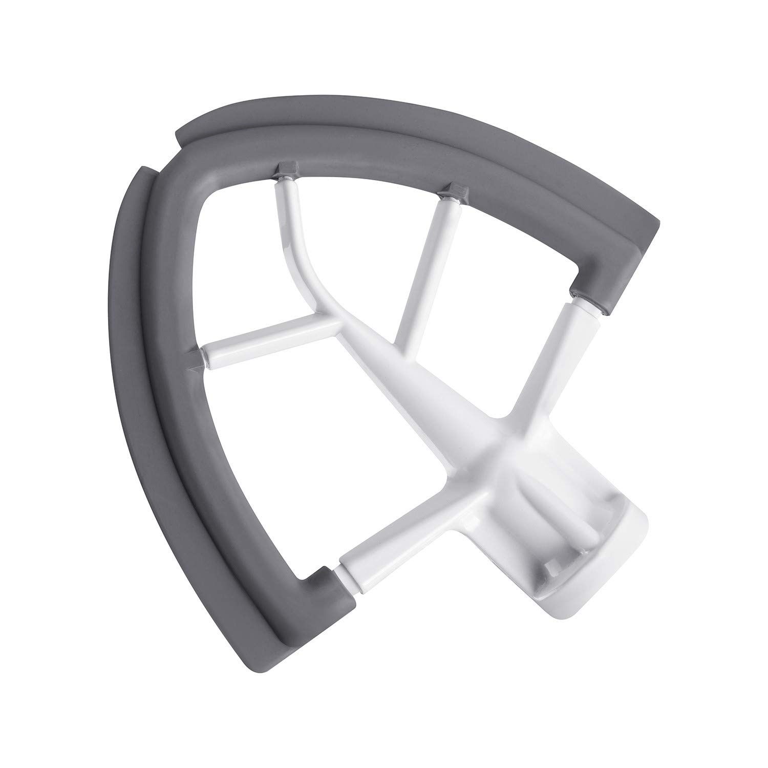 Flex Edge Beater for KitchenAid Tilt-Head Stand Mixer, 4.5-5 Quart Flat Beater Blade with Flexible Silicone Edges Bowl Scraper