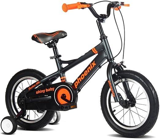 XQ TL-122 bicicletas para niños 3-13 años de edad niño niña espacio aluminio niños tamaño de bicicleta: 115cm (Color : Negro) : Amazon.es: Hogar