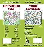 York / Gettysburg, Pennsylvania Street Map