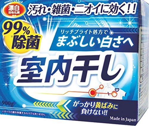 室内干し漂白剤除菌プラス 900g 【まとめ買い80個セット】 B073QRBMWW