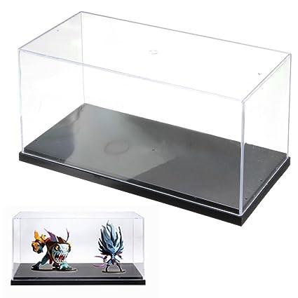261313 cm transparente acrílico metacrilato expositor caja caso plástico Base polvo