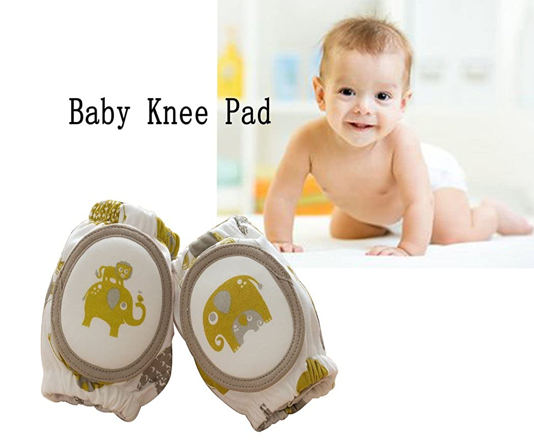 Baby Crawling Knee Pads, Unisex Breathable Crawling Protector Elbow Pads (2 PCS) Ds Online