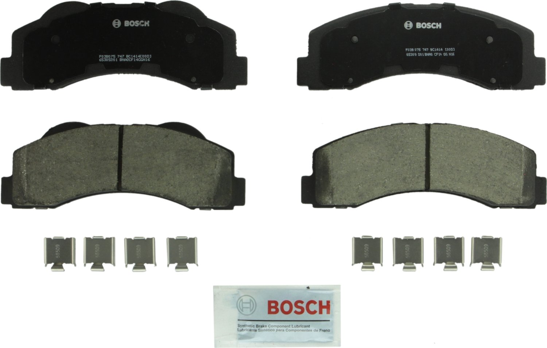 Bosch BC1414 QuietCast Premium Ceramic Front Disc Brake Pad Set