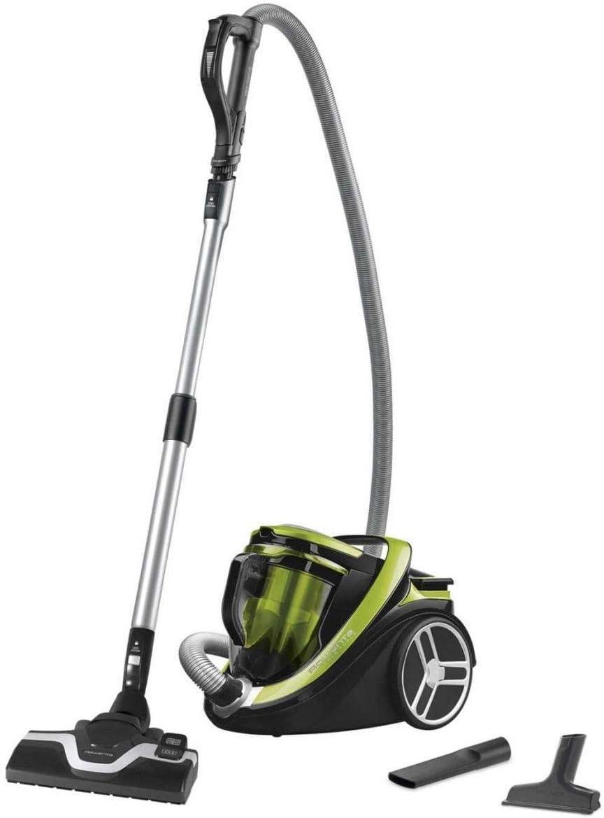 Rowenta - Aspirador sin Bolsa, Potente y silencioso, 550 W, 2,5 L, Accesorios incluidos, Silence Force Cyclonic RO7612EA: Amazon.es: Hogar