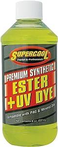 TSI Supercool A/C Comp Ester Lube, 8 Oz, Yellow (E8)