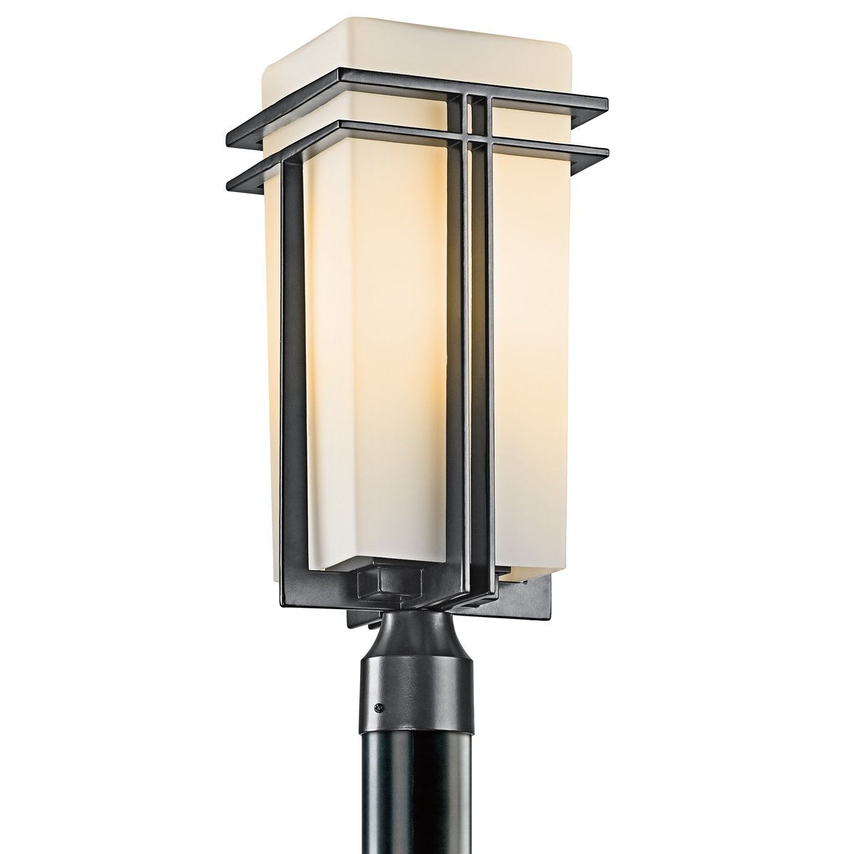 Kichler 49207BK One Light Outdoor Post Mount