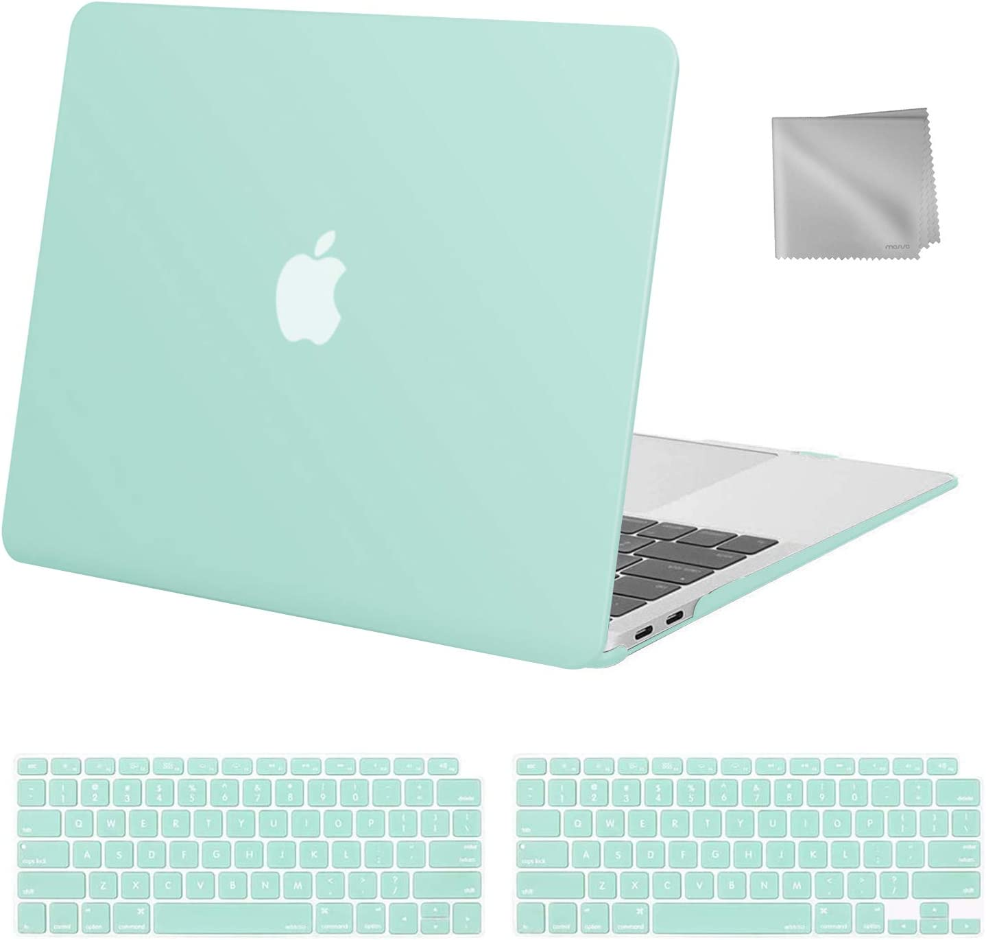 Funda rigida, cubierta teclado MacBook Air 13 inch 2020 mint