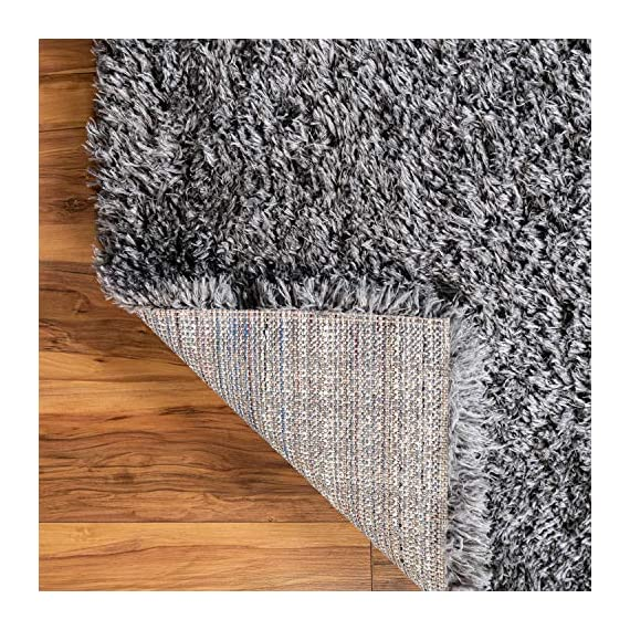Infinity Collection Solid Shag Runner Rug by Rugs.com – Smoke 2' x 6' High-Pile Plush Shag Rug Perfect for Hallways, Living Rooms, Bedrooms and More - SOFT AND DURABLE CONSTRUCTION - Made with high quality polypropylene that is as durable as it is soft. Our rugs stand up abuse even in high-traffic areas. PERFECTLY SIZED - 5' x 8' Area rugs are the perfect size for Living Rooms, Bedrooms, Dining Rooms , or anywhere you want to bring a little more style into your home EASY TO CLEAN - Our rugs are waterproof, mold and mildew resistant, stain resistant, and shed proof. With regular vacuuming (no beater bar!), your rug will last for years to come. - runner-rugs, entryway-furniture-decor, entryway-laundry-room - 61m%2BETQcbWL. SS570  -