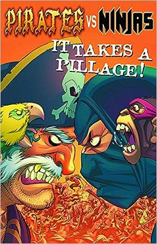 Pirates Vs. Ninjas: It Takes A Pillage Pocket Manga: Amazon ...