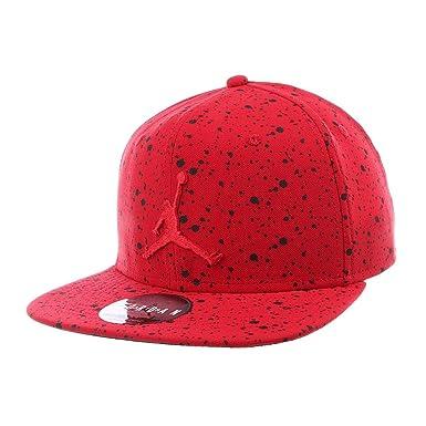 a64d8c1ec16f84 Jordan AA1310-687  Mens Pro AOP Snapback Gym Red Black Cap  Amazon.co.uk   Clothing