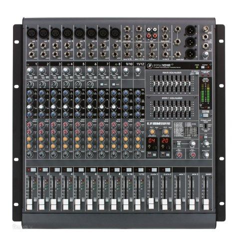 Mackie PPM1012 12-Channel, 1600-Watt Powered Desktop Mixer