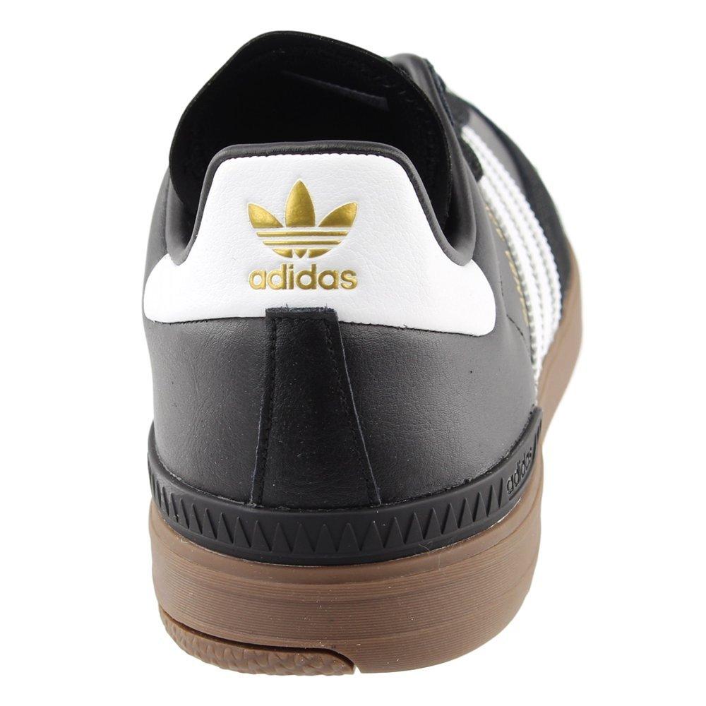 innovative design 5c11e b6e22 Adidas Skateboarding Hombres Samba ADV Negro  Blanco  Goma