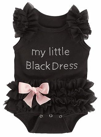 baby stores near me Baby My Little Black Dress Onesie, Black,(0-6 Months)