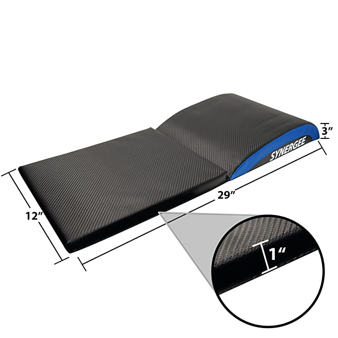 Fitness Equipment & Gear Iheartsynergee Buff Blue Core Ab Mat Abdominal Mat Sit-up Pad With Tail Bone Pad Sporting Goods