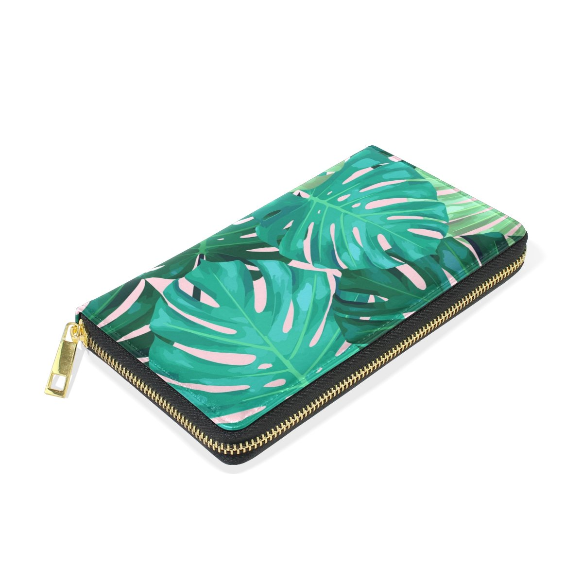 Womens Wallet Traveling Clutch Long Purse Leather Wallet