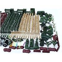 610 unids 5 cm nostálgico soldado militar figura playset niños juguetes