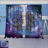 Best Harmony Pc Brands - SCOCICI1588 Linen Blend Curtains -Celestial and Terrestrial Harmony Review