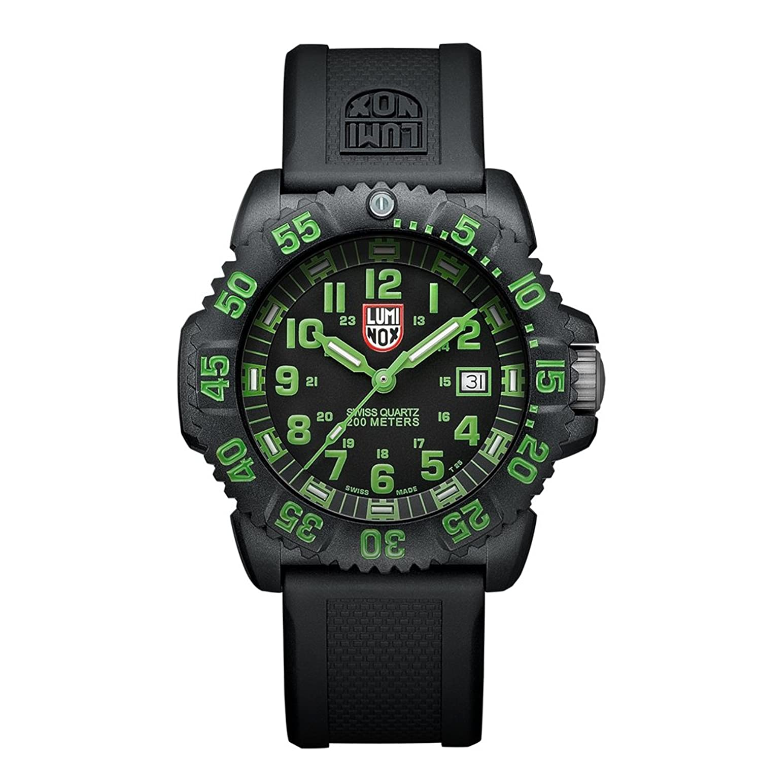 Luminox Navy SEAL Colormark Herren-Armbanduhr Analog Quarz Kautschuk - LU3067
