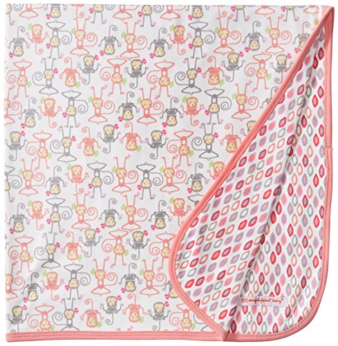 Magnificent Baby Girls' Yoga Monkey Reversible Receiving ...