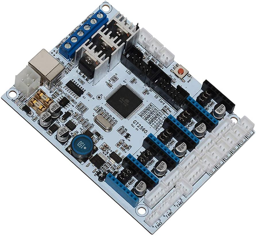 Support 5 A4988 Stepper Drivers 3D Printer Controller Board 3D Printer Professional Stable Office Circuit GT2560 Control Board Mainboard 3D Printer Motherboard