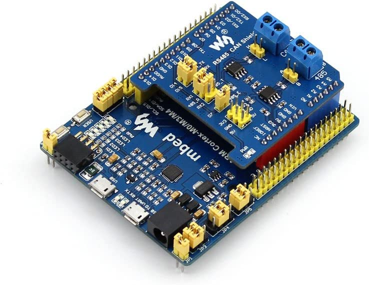 RS485 CAN Shield,Enable RS485//CAN communication functions for NUCLEO//XNUCLEO Arduino boards