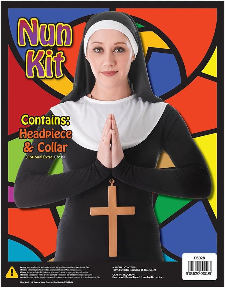 Bristol Novelty DS028 Nun Kit Multicoloured One Size