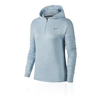 Nike Dry Element Running Hoodie, Sudadera con capucha de Mujer, Color Ocean Bliss/Htr, Talla XS: Amazon.es: Deportes y aire libre