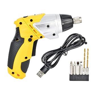 Destornillador eléctrico, destornillador inalámbrico de 3.6V ...