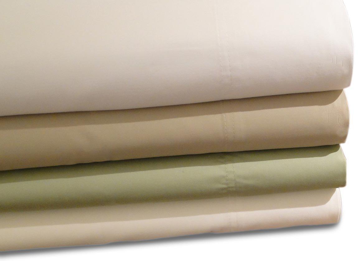 Baltic Linen 600 Thread Count Cotton Sheet Set, Ivory, Queen BALTIC LINEN COMPANY INC. 0366080290