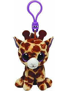 Amazon.com: Ty Beanie Boos Twigs - Giraffe Clip: Toys & Games
