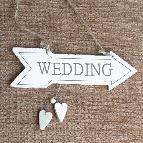 MINI Wooden WEDDING Arrow Sign