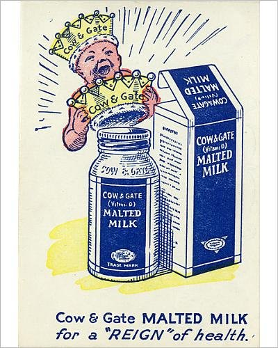 10x8 Print of Cow a Gate Snap - Malted Milk (14400152)