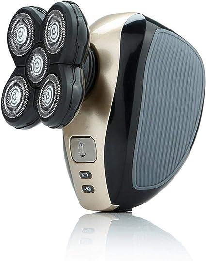 Teepao Afeitadora Eléctrica 4D, 5 en 1 Recortadora de Barba Lavable y Ajustable, Maquinilla de Afeitar de Seguridad Recargable de 3 Cuchillas para Hombres: Amazon.es: Hogar