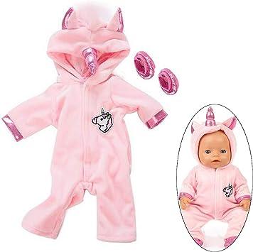 Amazon.es: Ouinne Uinicornio Ropa Trajes Vestidos para Muñecas de ...
