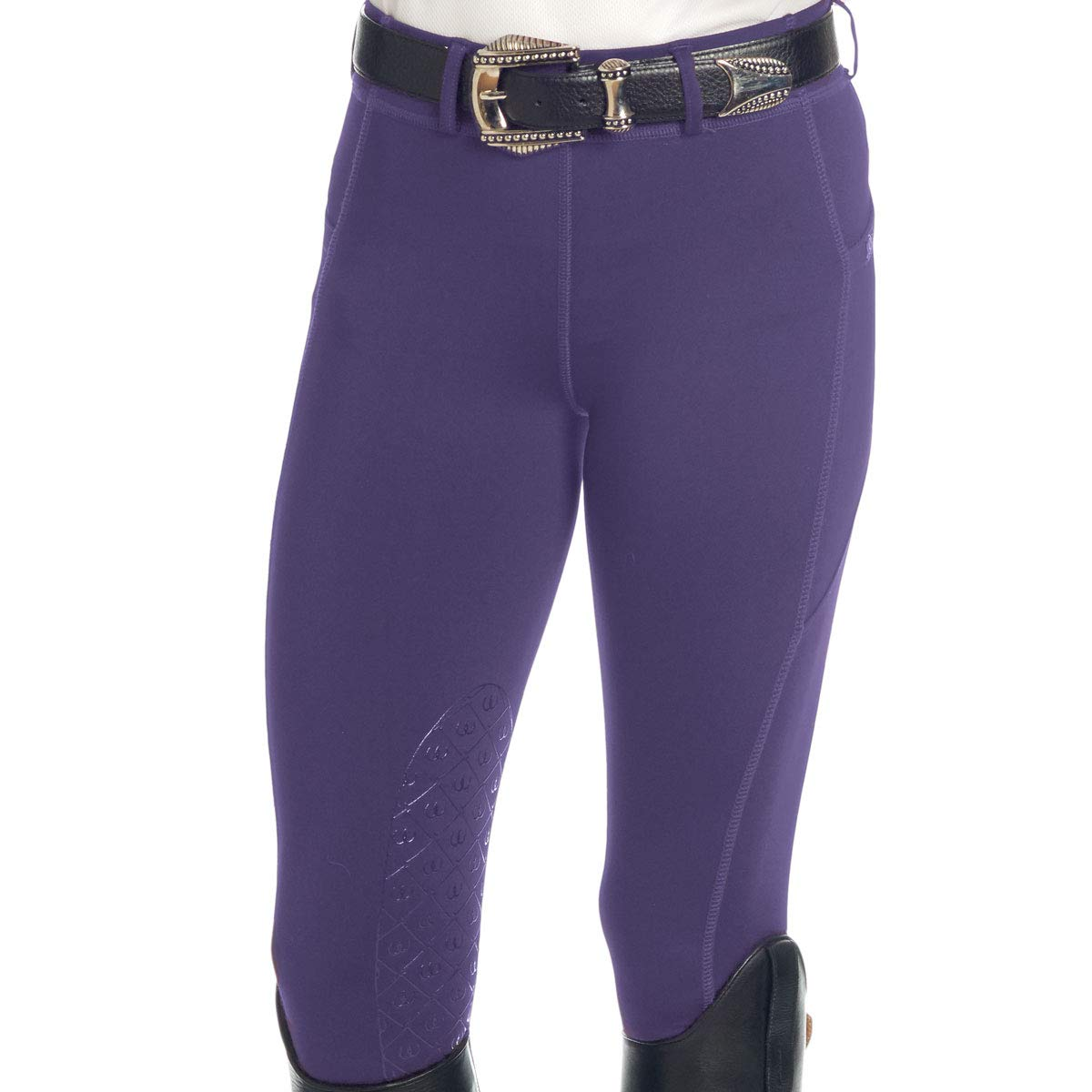 Ovation Ladies AeroWick Silicone Knee Patch Tights